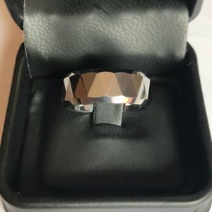 Men's Tungsten Wedding Band Ring Size 8